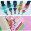 EASY DIY: spullen labellen met nagellak & washi tape