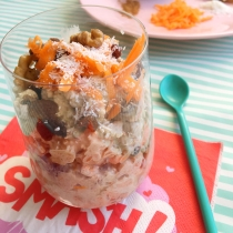Ontbijttip: Coco Carrot Cake Overnight Oats