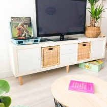 Snelle Make Over van IKEA KALLAX (EXPEDIT) TV-Meubel