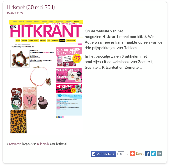 hitkrant mei 2011
