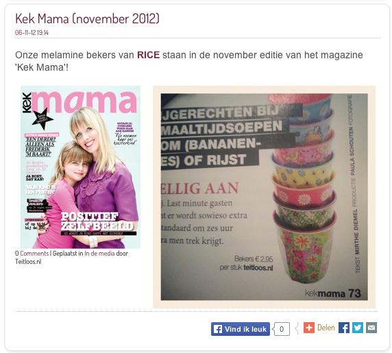 kek mama nov 2012