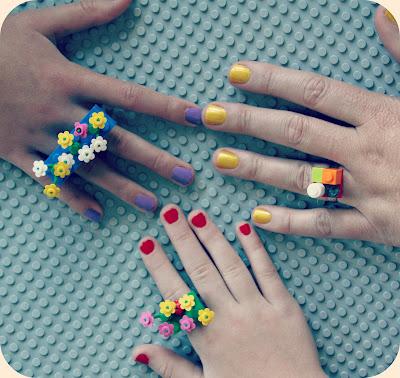 Lego Rings