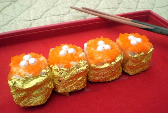 Most Expensive sushi