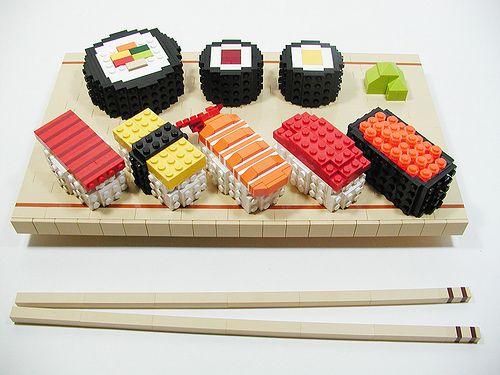 Sushi Lego
