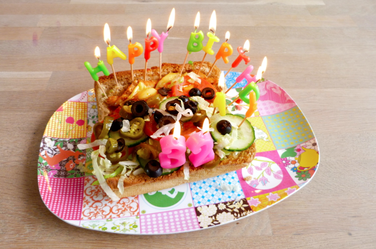 birthday subway candles