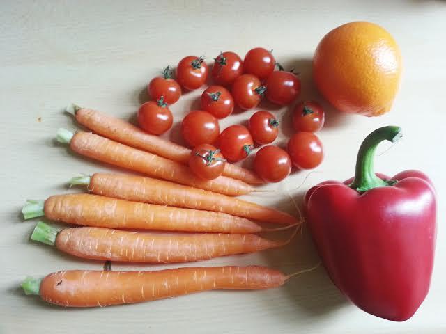 ingredienten paprika smoothie