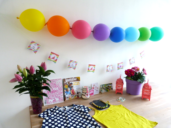 cadeautjes rainbow party