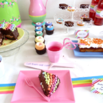 Rainbow Party Sweet Table
