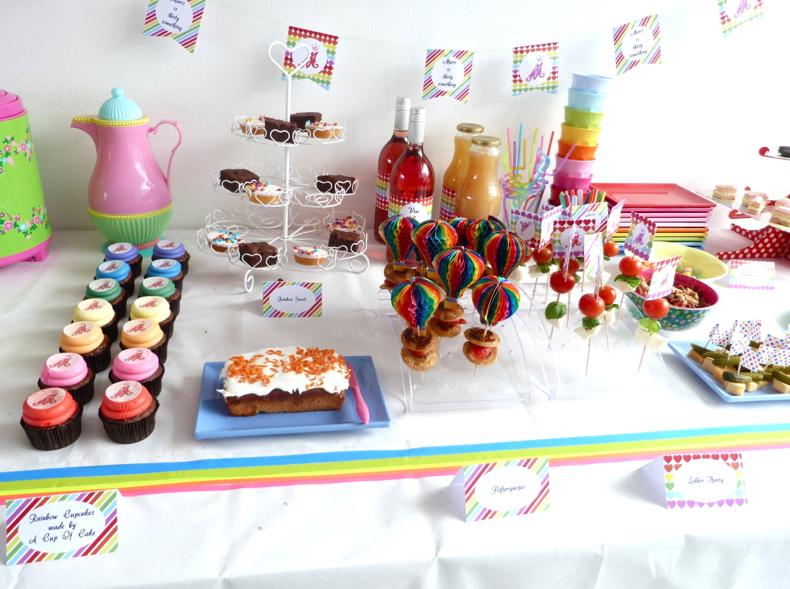 rainbow party zoet en hartig
