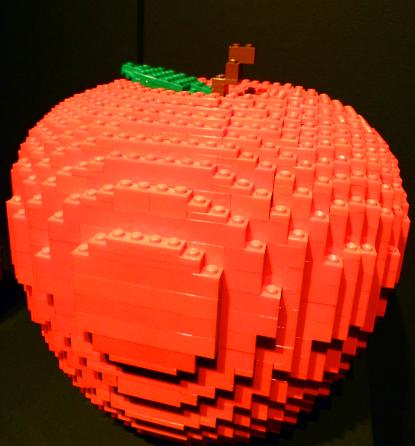 lego apple nathan sawaya