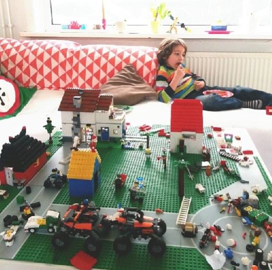 lego scenery at home