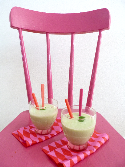 meloen munt smoothies 1