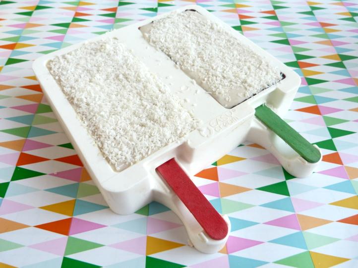 DIY ijsjes met kokos