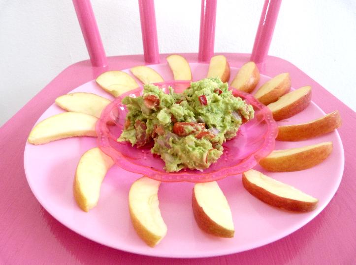 appel met guacamole
