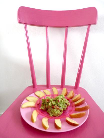 appelpartjes met guacamole