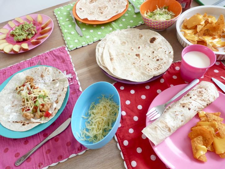mexicaans gedekte tafel