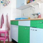 DIY Keukenkastjes pimpen met plakfolie