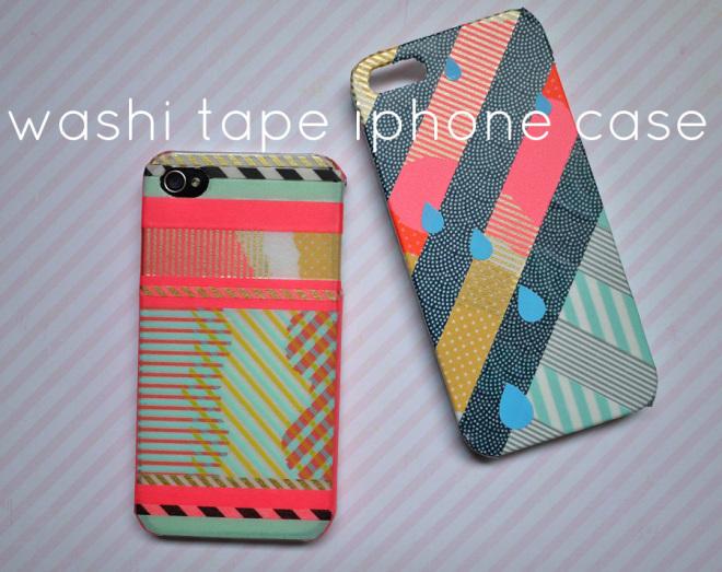 Diy washi tape for Washi tape phone case