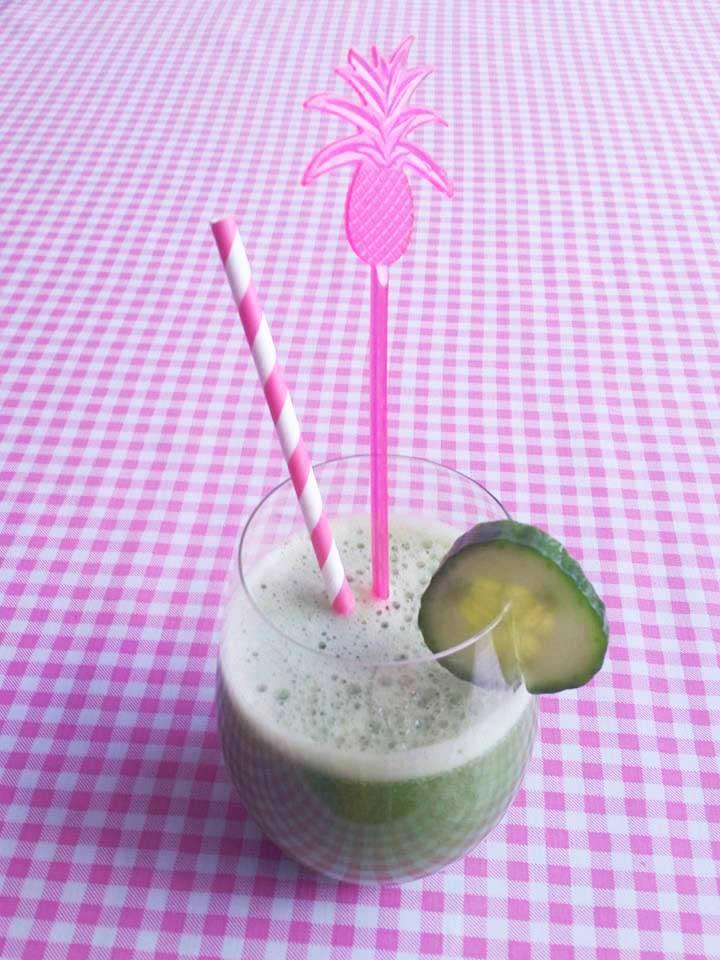komkommer-munt-citroen-smoothie