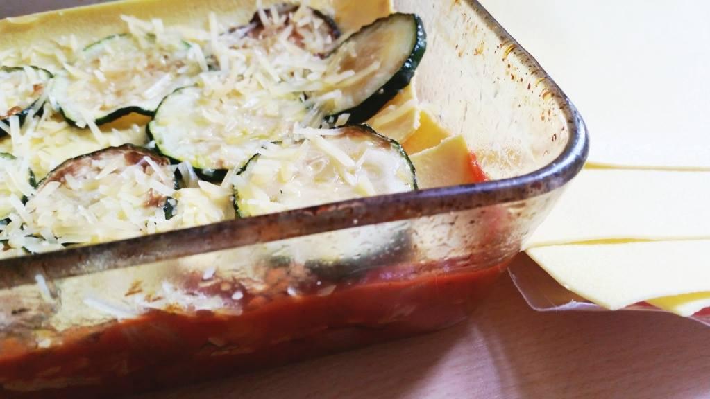 Lasagne Passata met oude kaas en verse tijm