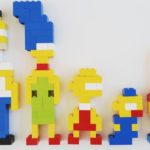 The Simpsons van LEGO