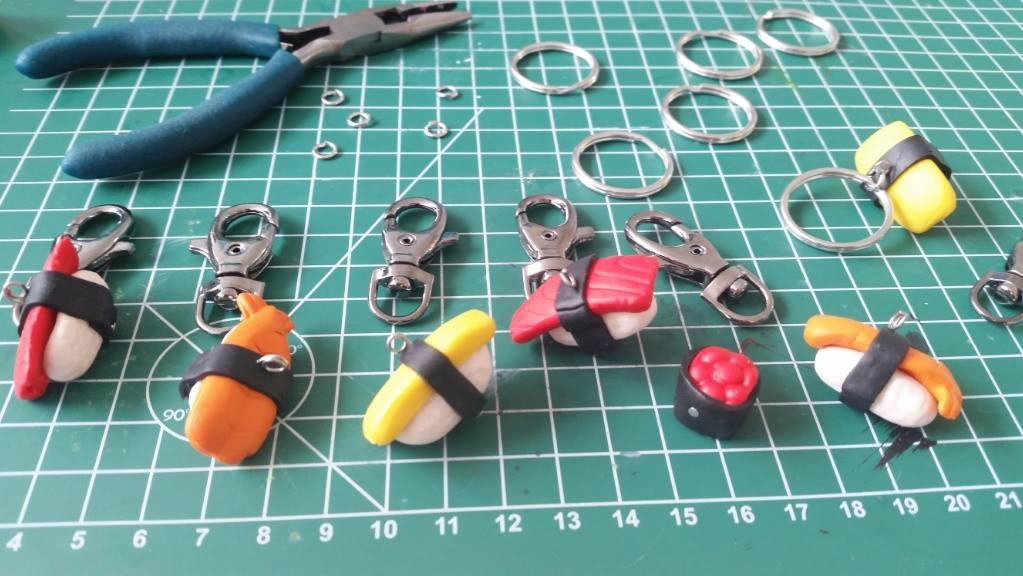 sushi sleutelhangers 2