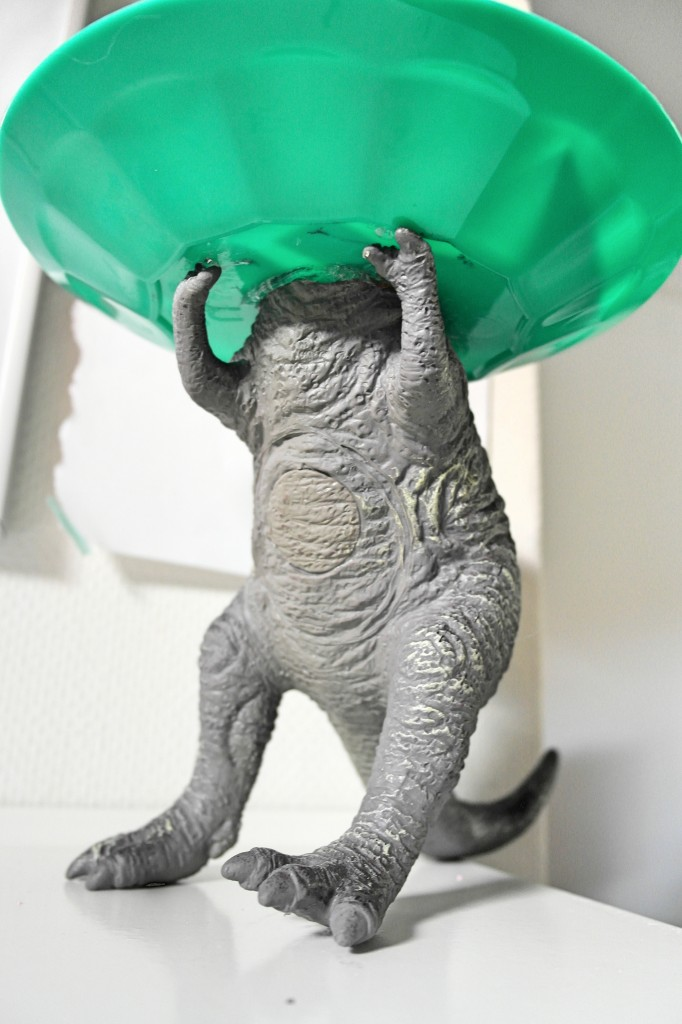 t-rex pootjes