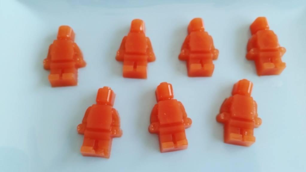 watermeloen gummies lego poppetjes