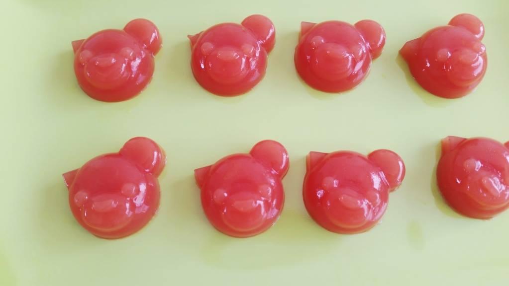 watermeloen gummies pandabeertjes