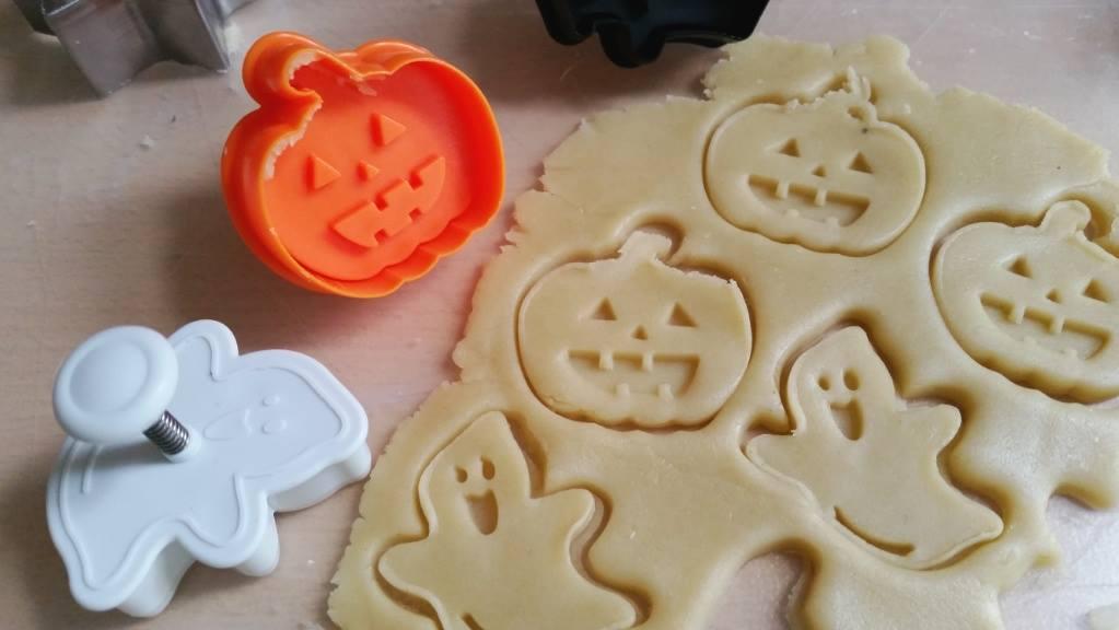 koekje eigen deeg halloween ongebakken