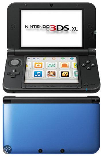 3DS XL blauw