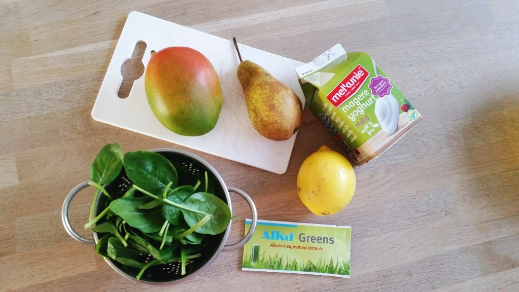 ontzurende smoothie ingredienten