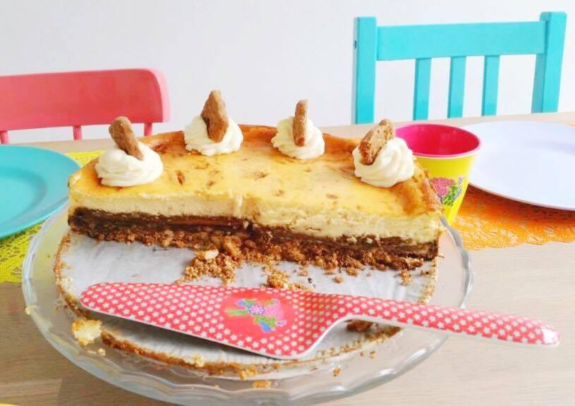 speculaas-cheesecake-doorgesneden