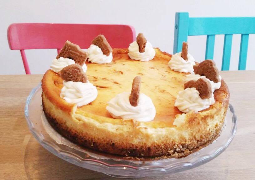 speculaas-cheesecake