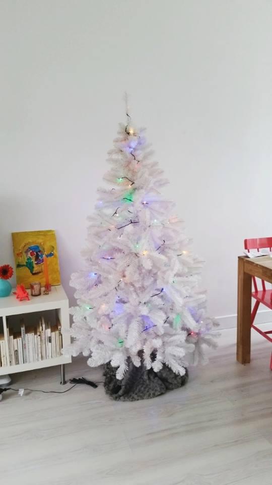 kerstboom optuigen stap 2