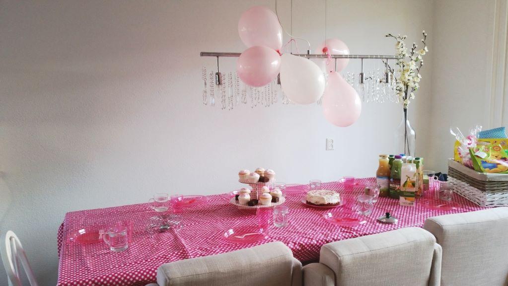 babyshower tafel