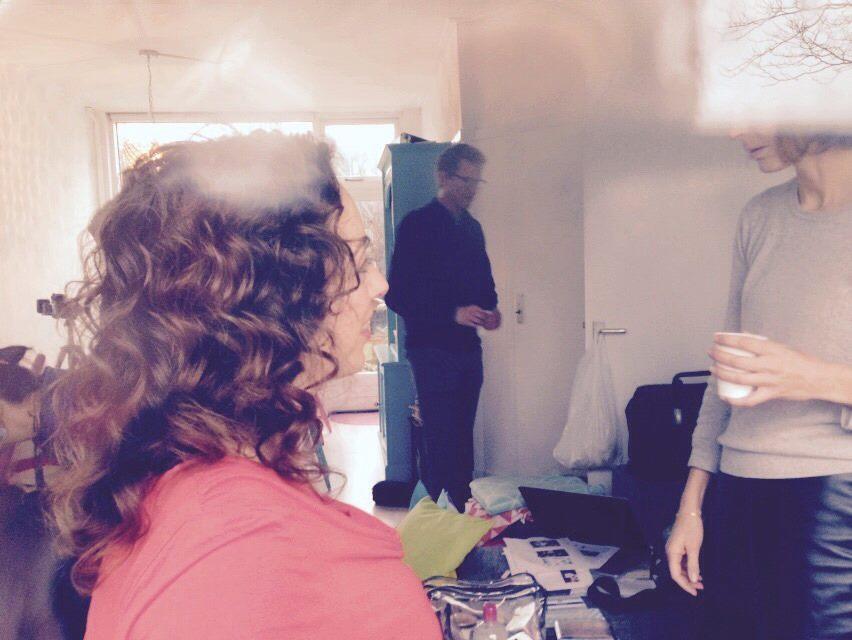 backstage fotoshoot zeeman visagie haar