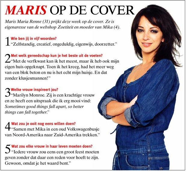 maris maria renne interview vrouw