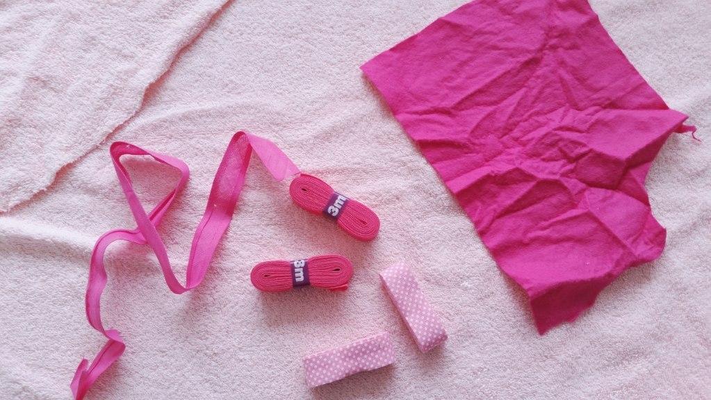 DIY baby badcape benodigdheden