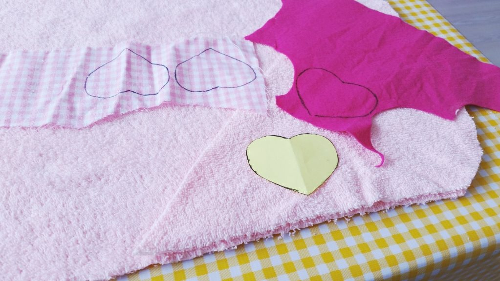 diy baby badcape applicaties maken