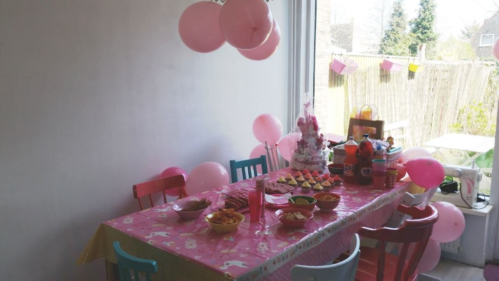 Babyshower Hare Maristeit Party Table Take Over
