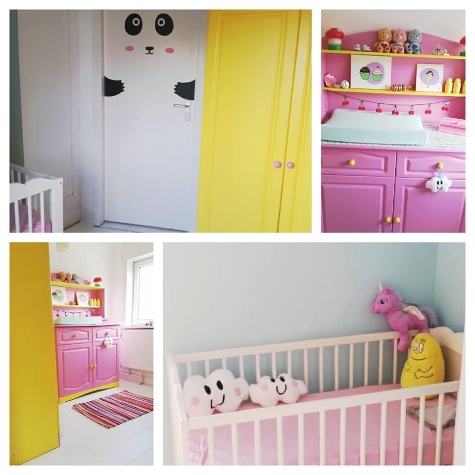 babykamer update collage