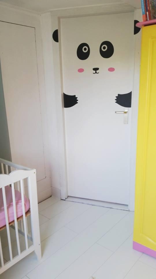 babykamer update ledikantje deur en kast
