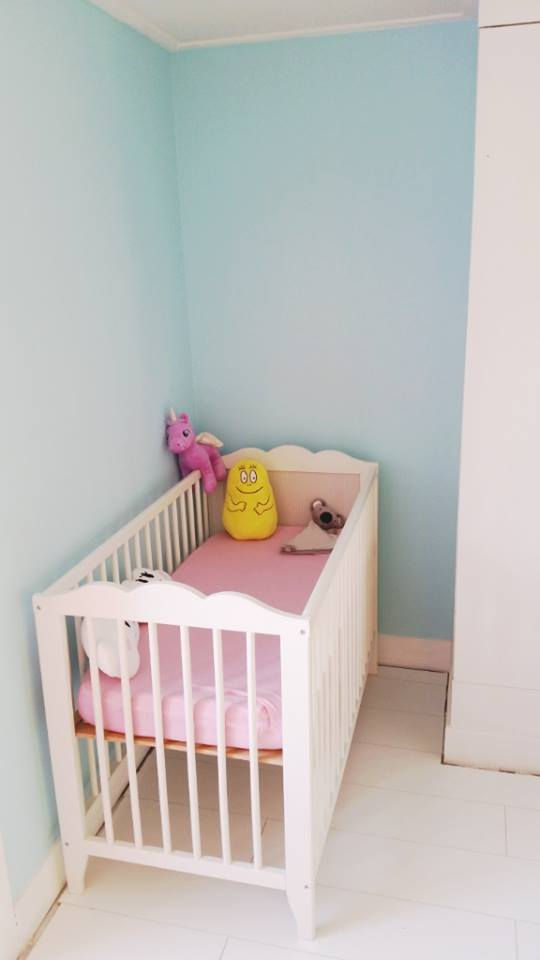 babykamer update ledikantje voorkant