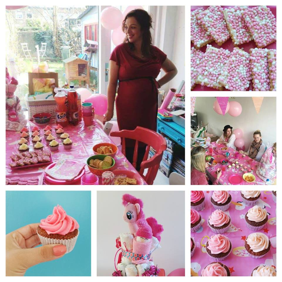 babyshower collage