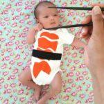 DIY Sushi Baby Rompertje