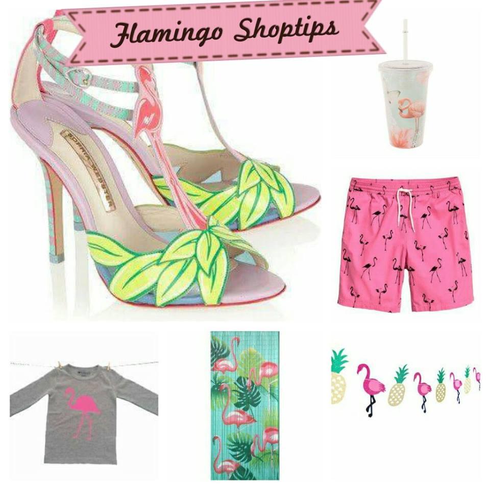 flamingo shoptips collage