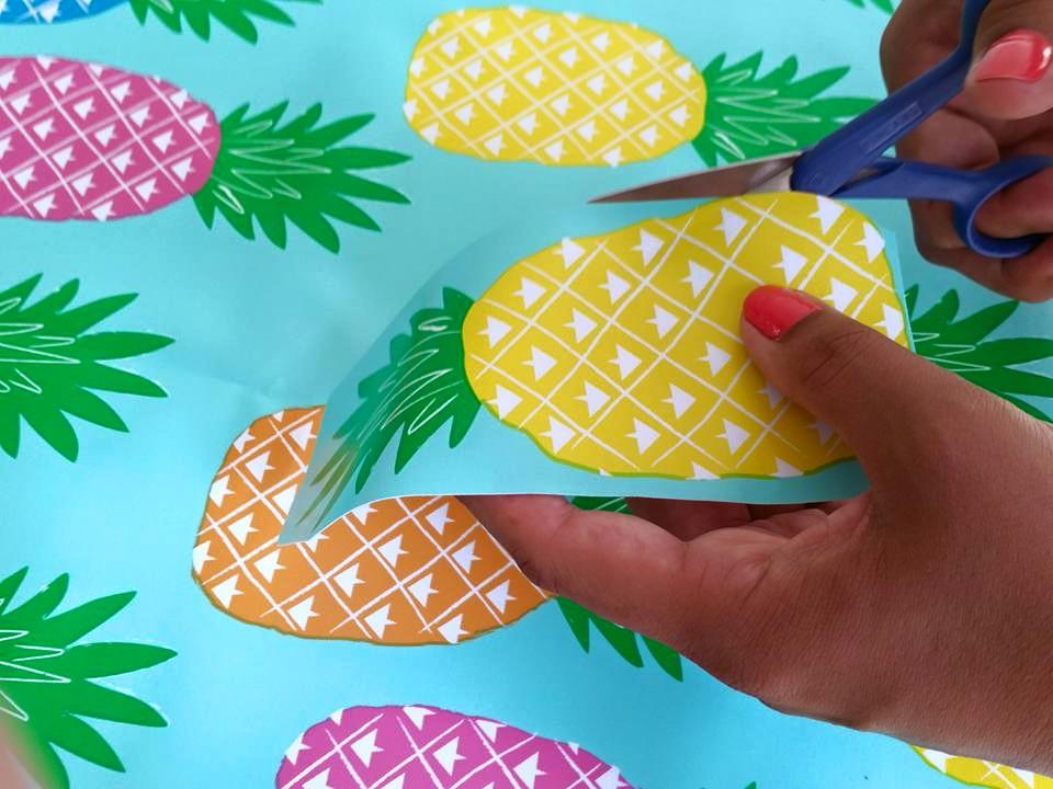 ananas slinger knippen