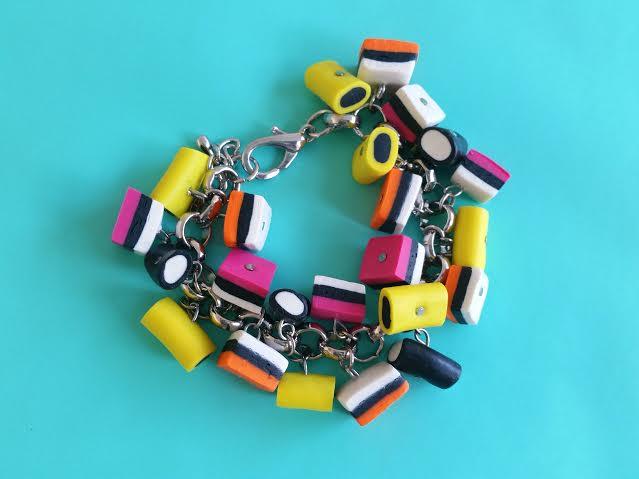 DIY Engelse dropjes armband