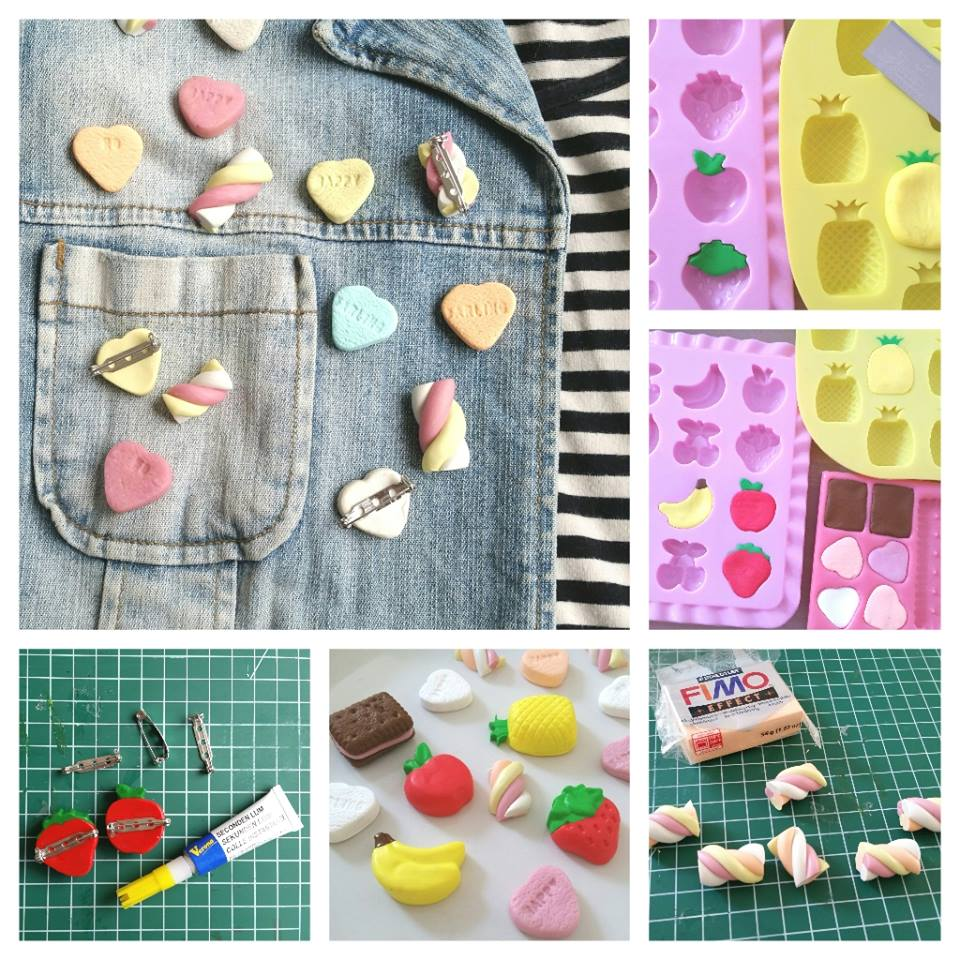 diy fimo collage